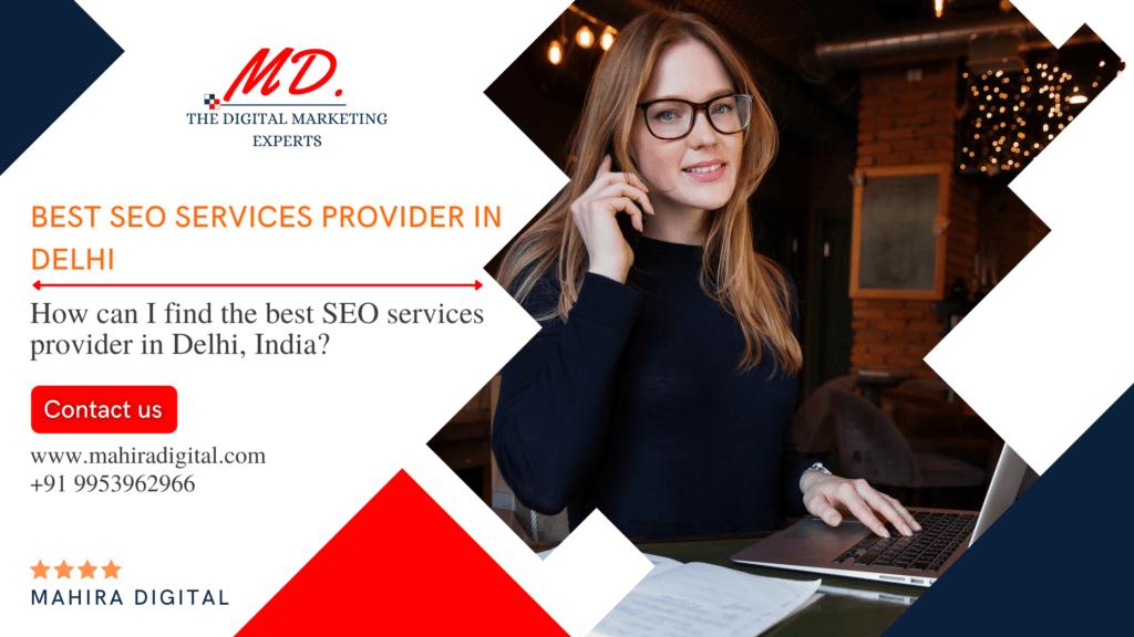 best SEO services in Delhi