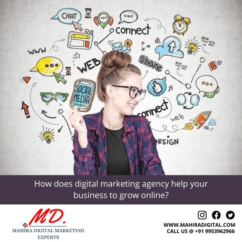 digital marketing agency help your business to grow